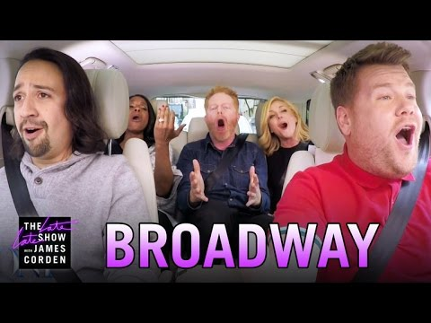 Carpool Karaoke with Hamilton Star LinManuel