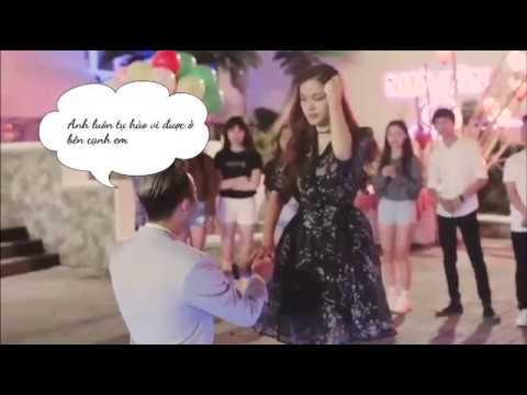 Chàng trai đem cả họ hàng đến nhảy flashmob cầu hôn