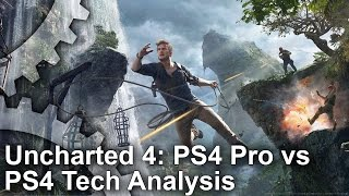 [4K] Uncharted 4 on PS4 Pro: How Much Of An Upgrade Is It?