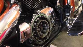 8. Changing the clutch on a 2002 Honda Shadow Sabre 1100