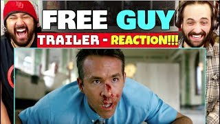 FREE GUY | TRAILER - REACTION!!! by The Reel Rejects