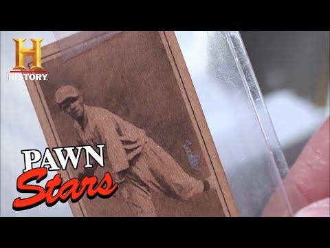 Pawn Stars: 1915 Babe Ruth Baseball Card (Season 7) | History (видео)