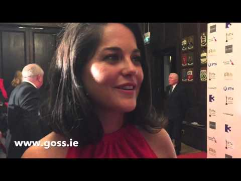Goss.ie chats to Sarah Greene at the IFTA Film and Drama Awards 2016