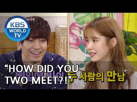 How did you two meet?! [Happy Together/2018.09.20]