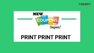 HI Everyone! Here are some new coupons I thought worth printing... There is also the Pepsi Fire coupon to print as well if any of...