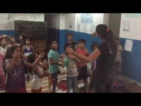Senior students poem recitation at Maitri's Summer Camp 2015