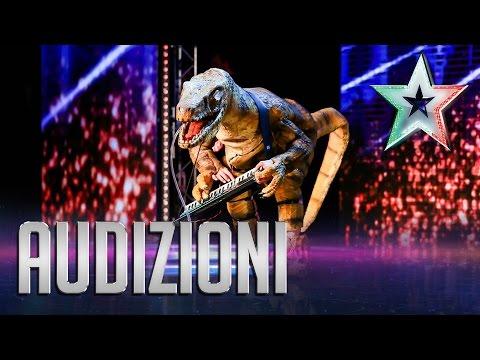 jurassic's got talent - italia's got talent
