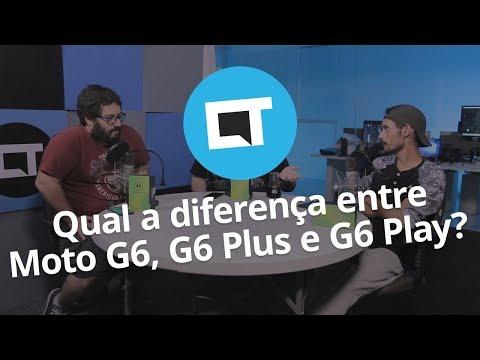 Tudocelular - Qual a diferença entre o Moto G6, G6 Play e G6 Plus