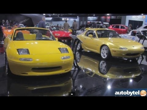 Mazda Miata 25th Anniversary w/ Bob Hall and Tom Matano @ New York Auto Show