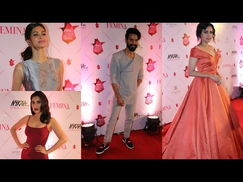 Femina & Nykaa Host 3 Nykaa Femina Beauty Awards 2017 With Swara Bhaskar , Shahid Kapoor
