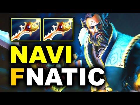 NAVI vs FNATIC - AMAZING 2x RAPIER GAME!!! - SL ImbaTV 5 MINOR DOTA 2