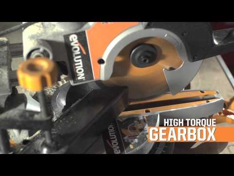 Evolution Rage3-S300 210mm Multipurpose Sliding Mitre Saw 230v
