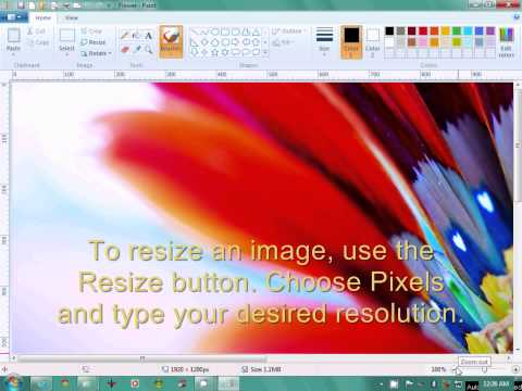 Ms paint tricks and secrets for windows 7