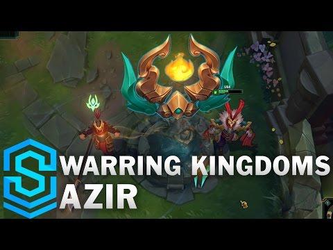 Một số hình ảnh và video review Skin Warring Kingdoms Azir - Trang phục Azir Loạn Thế Anh Hùng - Azir Đinh Dậu