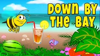 Video Down by the Bay with Lyrics - Nursery Rhymes - Children's Songs by The Learning Station MP3, 3GP, MP4, WEBM, AVI, FLV Agustus 2018