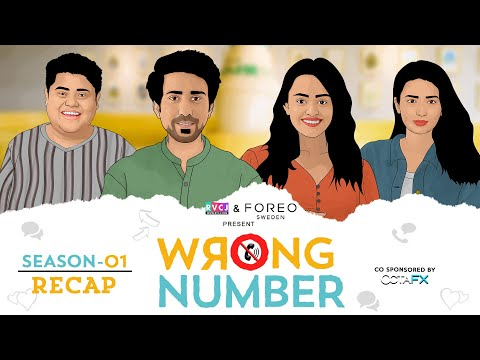 Wrong Number | Season 1 Recap | Ft. Apoorva, Ambrish, Badri & Anjali | RVCJ Originals