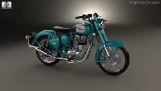 8. Royal Enfield Bullet C5 Classic 2014 by 3D model store Humster3D.com