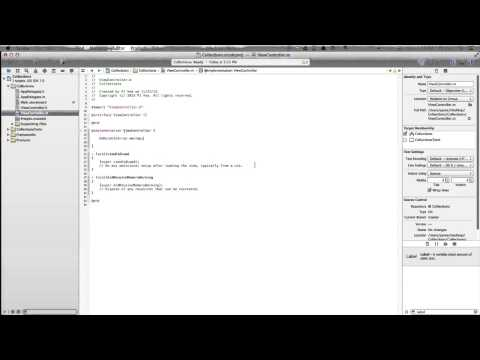 Xcode 5 Tutorial IOS 7 Collection Views