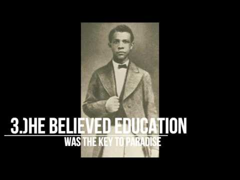 "Up From Slavery: 5 interesting facts about Booker T. Washington l Ch.1 ""A Slave Among Slaves"""