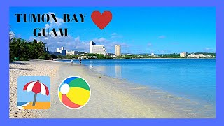 GUAM, the magnificent beaches of Tumon Bay in Micronesia of the Pacific Ocean. Let's go for a tour of Guam's most popular beach area, Tumon Bay, which is ...