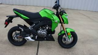 10. $2,999:  2017 Kawasaki Z125 Pro Candy Lime Green Overview and Review