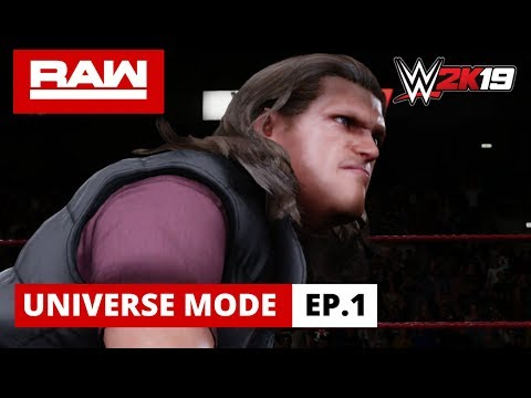 WWE 2K19 Universe Mode - RAW Ep.1: Rated-R!
