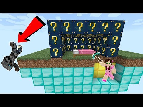 Minecraft: EPIC ASTRAL LUCKY BLOCK BEDWARS! - Modded Mini-Game (видео)