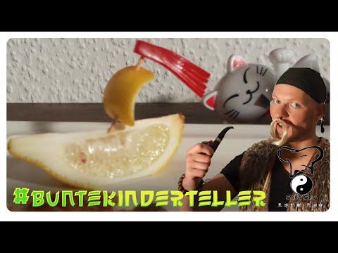 BunteKinderTeller / Insellandschaft