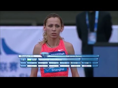 Dusanova Nadezhda 1.94 Shanghai Diamond League 14.05.2016 ( women high jump )