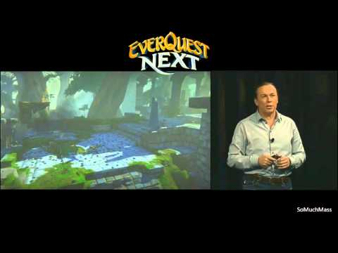 EverQuest Next Debut – Gameplay Footage – SOE Live 2013 (Full)