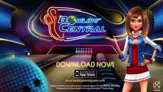 Bowling Central - Online multiplayer, Puzzle, Turniere, Apple TV unterstützen, Frei spiel! Trailer