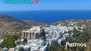 Dronevideo / Luchtvideo Patmos - GriekseGids.TV