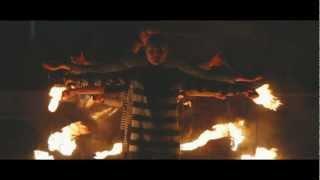 Фаєр шоу на льоду в Ужгороді (промо відео 2013)