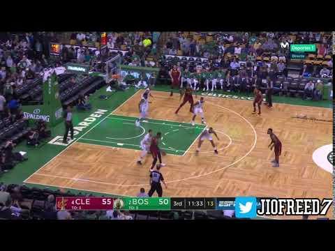 [Postear] Lebron James post up on Jayson Tatum Game2