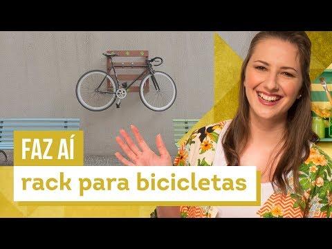 Suporte para bike - DIY com Karla Amadori - CASA DE VERDADE
