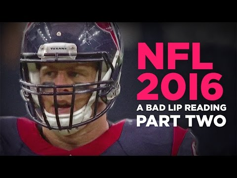 A Bad Lip Reading NFL 2016 Part Two