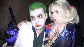 The Joker Harley Quinn SUICIDE SQUAD parody - Real Life Superhero Movie - TheSeanWardShow