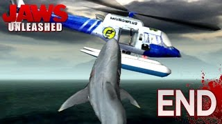 JAWS GO BOOM!! - Jaws Unleashed - FINALE (PS2) || HD