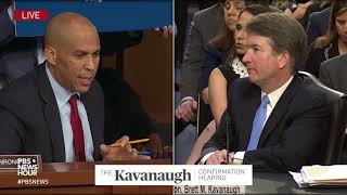 Video Booker asks Kavanaugh if he respects Trump, and if he'd recuse from cases involving the presidency MP3, 3GP, MP4, WEBM, AVI, FLV November 2018