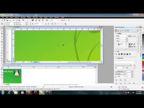 Cara Membuat Banner Dan Baliho Dengan Corel Draw X6
