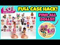NEW HACK: LOCATION OF DOLLS IN FULL CASE | LOL SURPRISE SERIES 3 CONFETTI POP | BIG SISTERS | L.O.L.