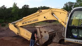 9. Greasing the New Holland Hoe