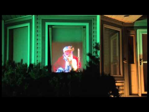 VIRTUAL SANTA CLAUS WINDOW PROJECTION DVD