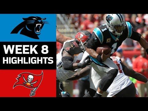 Panthers vs. Buccaneers | NFL Week 8 Game Highlights - Thời lượng: 7:35.