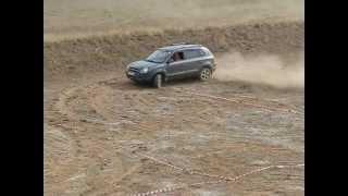 Hyundai Tucson Test Drive V 6.09.2008Покатушки 2
