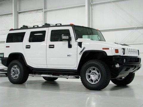 hummer h2 - test drive