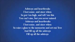 Ashtrays and Heartbreaks (Lyrics) - Snoop Lion Ft. Miley Cyrus