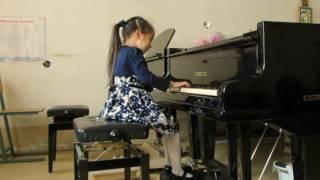 аида филиппова,бах,маленькая прелюдия,ре минор,якутск,талантливые дети,видео,музыка,фортепиано