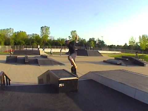 Buffalo Grove Skate Park Session