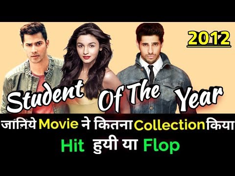STUDENT OF THE YEAR 2012 Bollywood Movie Lifetime WorldWide Box Office Collection